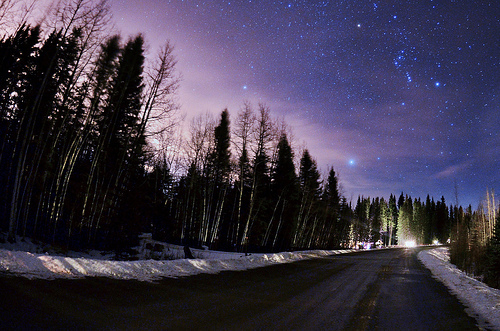 nature, night, photography, pretty, road