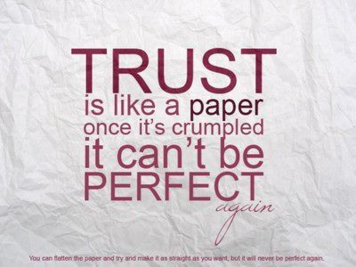 quotes, trust, words